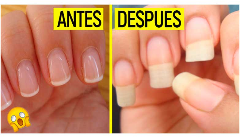 Receta Secreta te Hara Crecer Las uñas Largas En 2 semanas