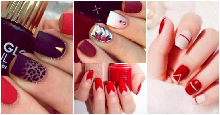 Unas Rojas Los 40 Mejores Disenos Para Lucir Hermosa Siempre Hermosa