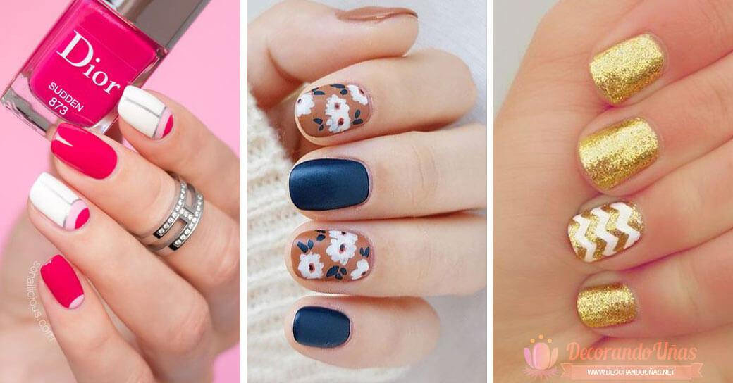 Pintados de uñas Para Fin de Año [Faciles Y Rapido Desde casa]